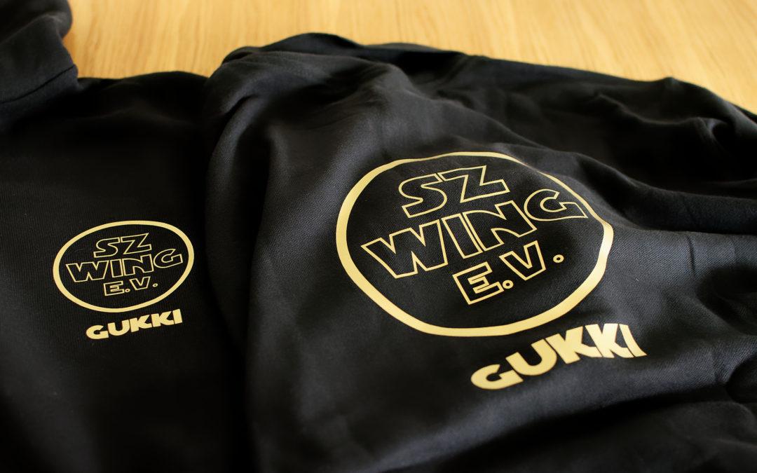 Teambekleidung für den SZ-Wing e.V.