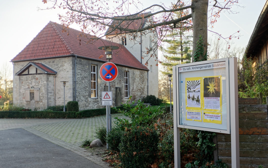 Schaukästen für die Ev.-luth. Kirchengemeinde Stöckheim