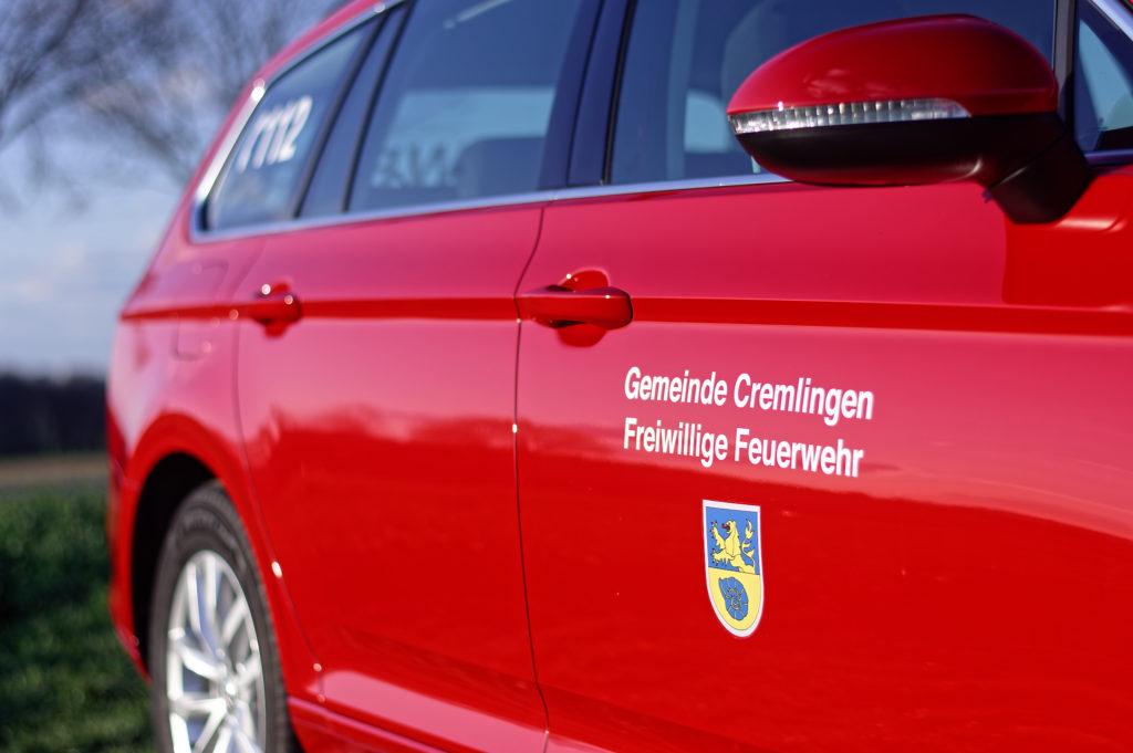 Kommandowagen der Freiwilligen Feuerwehr Gemeinde Cremlingen